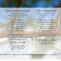 """Thorn in My Side"" Inspirational Matted Art Decor"
