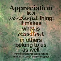 appreciation for others